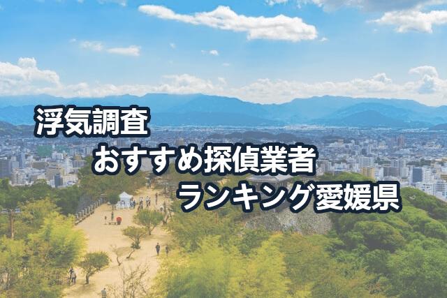 愛媛県で確かな証拠を掴む!浮気調査のおすすめ探偵・興信所【口コミ・動画比較】
